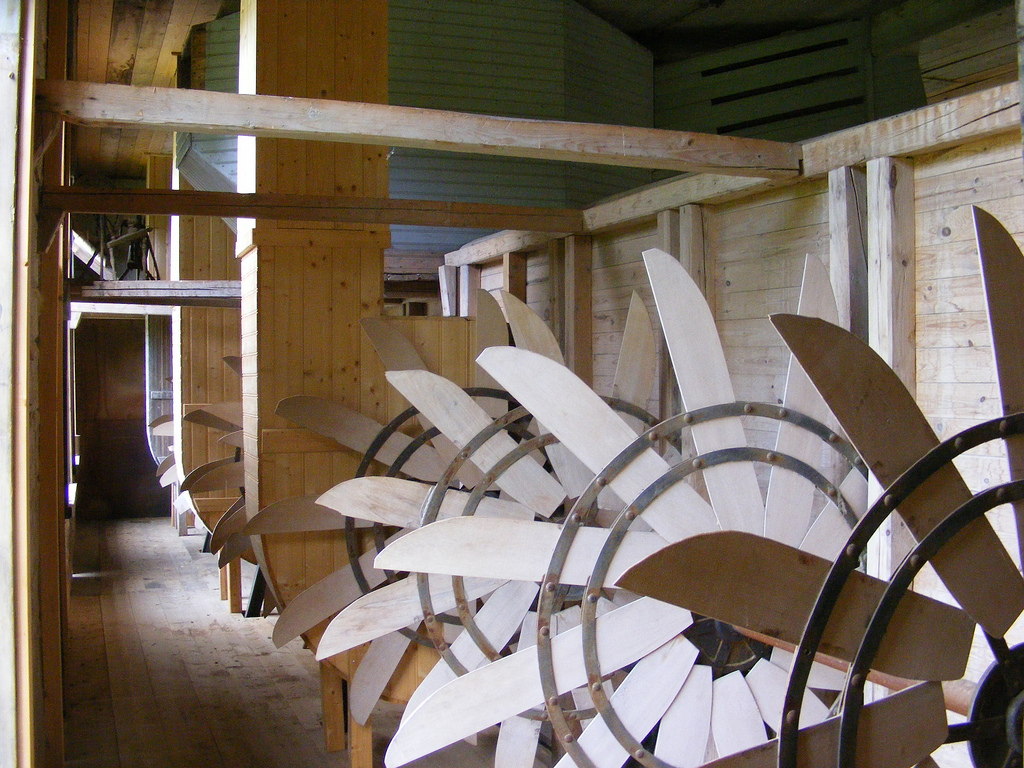 scutching mill large